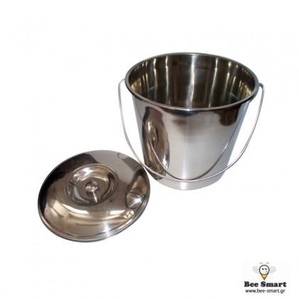Ανοξείδωτο δοχείο μελιού 15 kgr