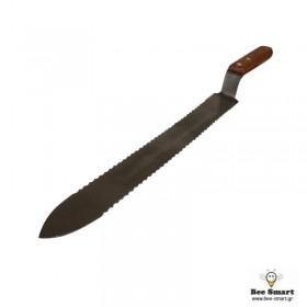 Μαχαίρι απολεπισμού με δόντια ξύλινο (40cm)