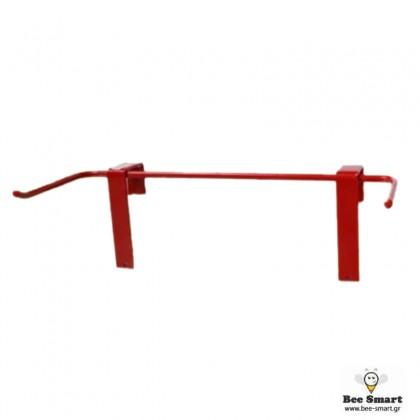 Στήριγμα πλαισίων κόκκινο by www.bee-smart.gr