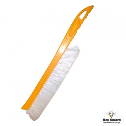 Βούρτσα τρύγου πλαστική μεγάλη κίτρινη