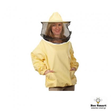 Φούτερ Μελισσοκομίας  με καπέλο by www.bee-smart.gr