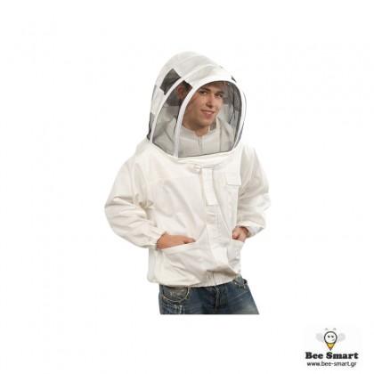 Μπουφάν μελισσοκομίας Αστροναύτη Νέου τύπου by www.bee-smart.gr
