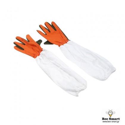 Γάντια μελισσοκομίας υφασμάτινα by www.bee-smart.gr