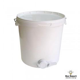 Δοχείο μελιού πλαστικό 19 ltr με κάνουλα