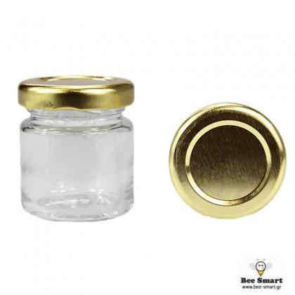 Βάζο γυάλινο 40 ml by www.bee-smart.gr
