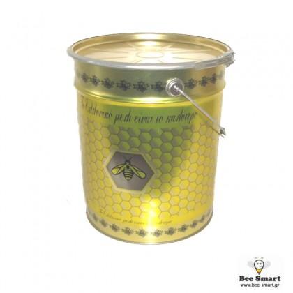 Κουβάς στρογγυλός 28 kgr με τσέρκι by www.bee-smart.gr