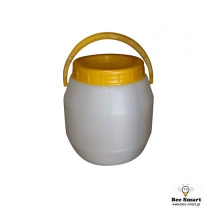 Δοχείο μελιού πλαστικό 3 kgr.