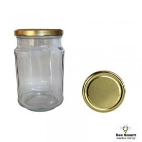 Βάζο Γυάλινο Τετράγωνο 720 ml