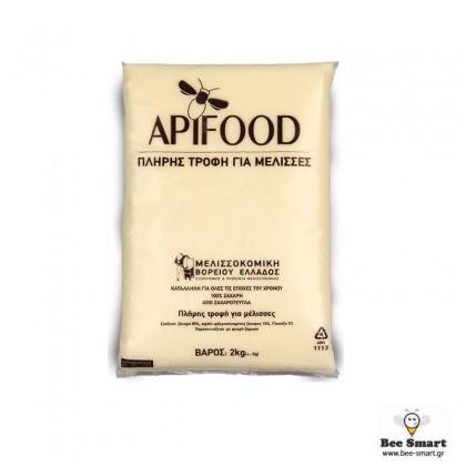 Πάστα Apifood 2kg Μελισσοκομικής Βορείου Ελλάδος by www.bee-smart.gr