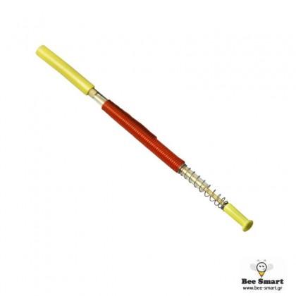 Εμβολιαστήρι Πλαστικό Με Έμβολο Με Ξύλο Bamboo