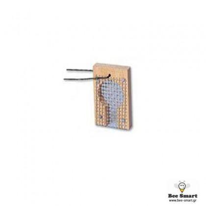 Κλουβί μεταφοράς βασίλισσας ξύλινο κρεμαστό by www.bee-smart.gr