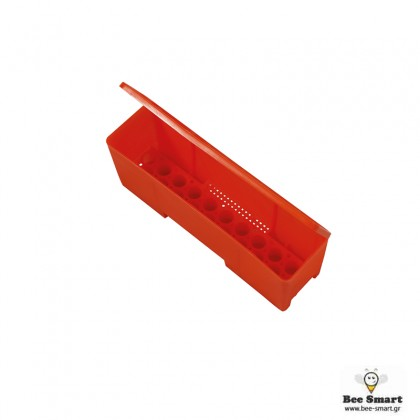 Πλαστικό κουτί μεταφοράς βασιλισσών by www.bee-smart.gr