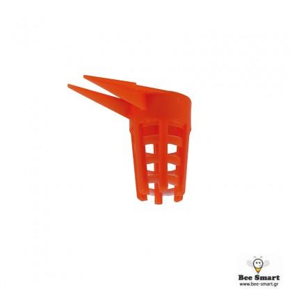 Προστάτες κόκκινοι για βασιλικά κελιά (10 τεμ) by www.bee-smart.gr